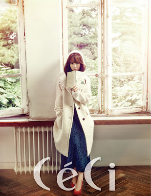 Park Bo Young - Ceci Magazine October Issue 2015