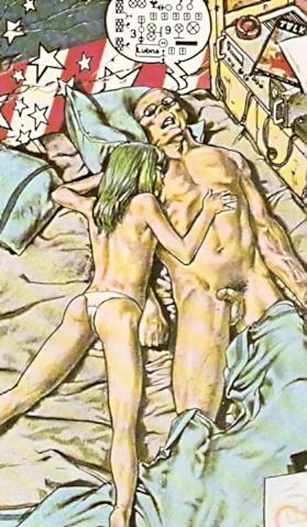 Ranxerox en pleno orgasmo