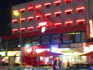 Red lights on the Reeperbahn