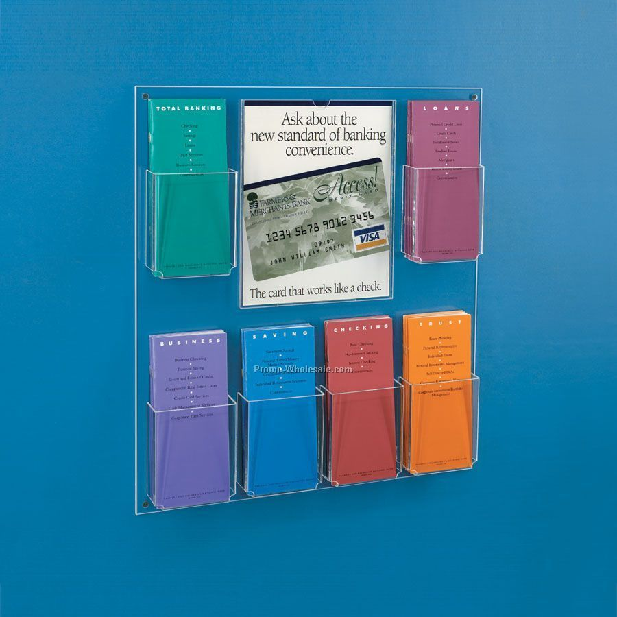 Brochure Kiosk Pics Brochure Holder Wall Mount