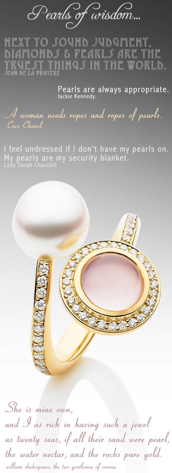 Pearls birthstone for june part ii glamour drops