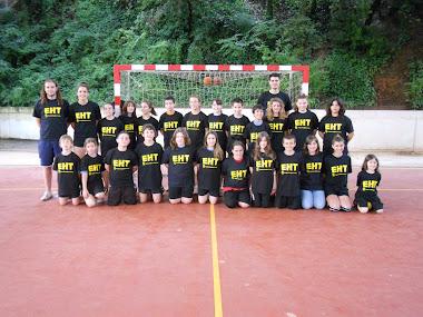 Cloenda de l'Escola d'Handbol 2010/2011