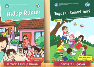 Download Buku Kelas 2 SD Kurikulum 2013