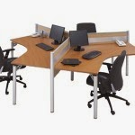 Kantor Partisi Workstation 2 Modera Workstation 1-Series