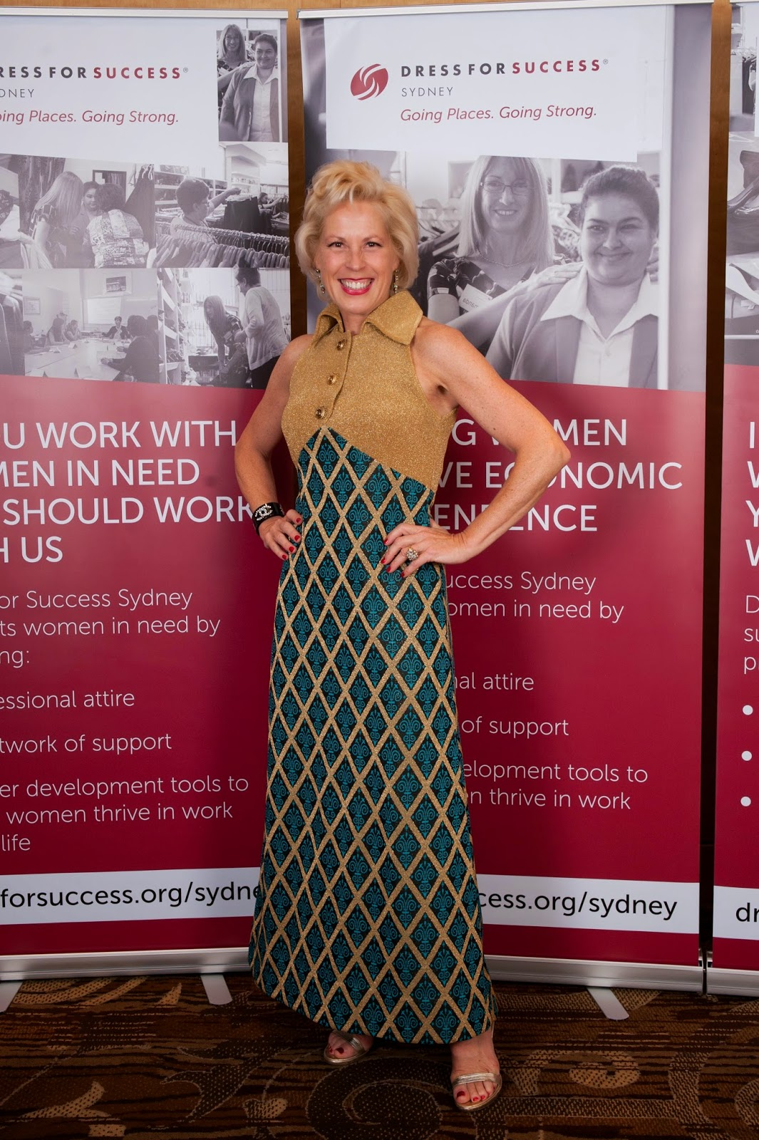 the darnell collection charlotte smith is now an ambassador at charlotte smith is now an ambassador at dress for success sydney dfss