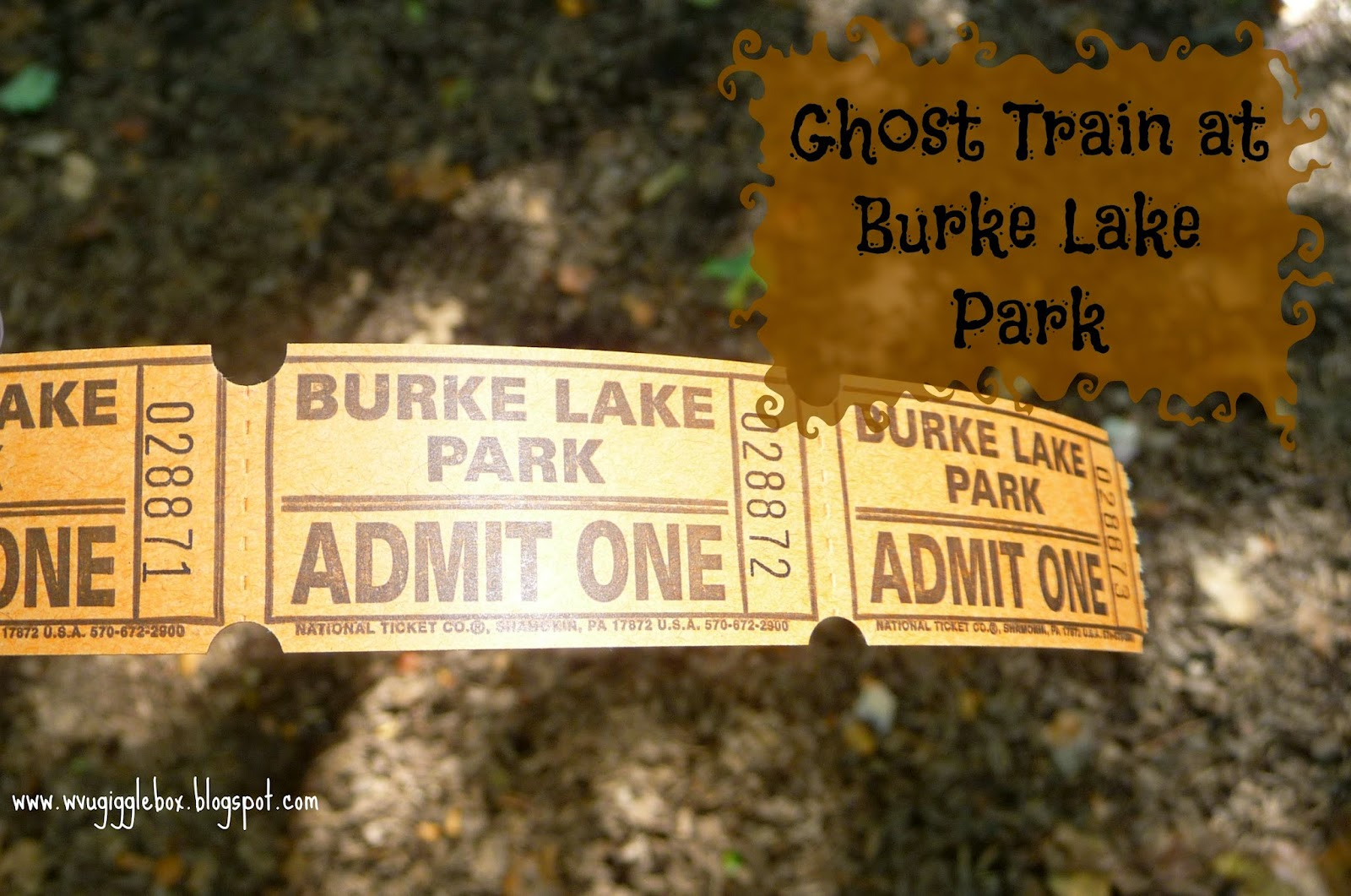 halloween family fun on the ghost train at burke lake park in northern virginia - Halloween Northern Virginia