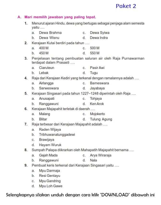Download Soal Uts Ganjil Ips Kelas 5 Semester 1 2015 2016 Rief Awa Blog Download Kumpulan