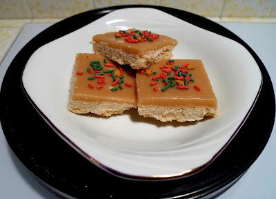ginger crunch bars - secret recipe club