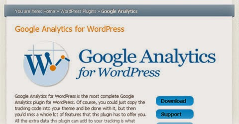 Yoast Google Analytics For WordPress