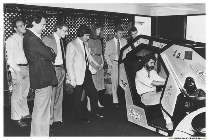 george lucas star wars arcade