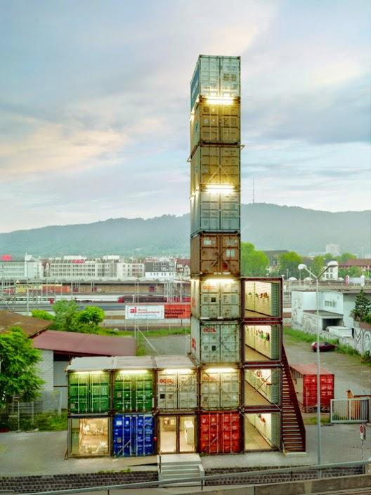 Vida ecoverde tejido 100 biodegradable hecho de plantas freitag - Shipping container homes el tiemblo spain ...