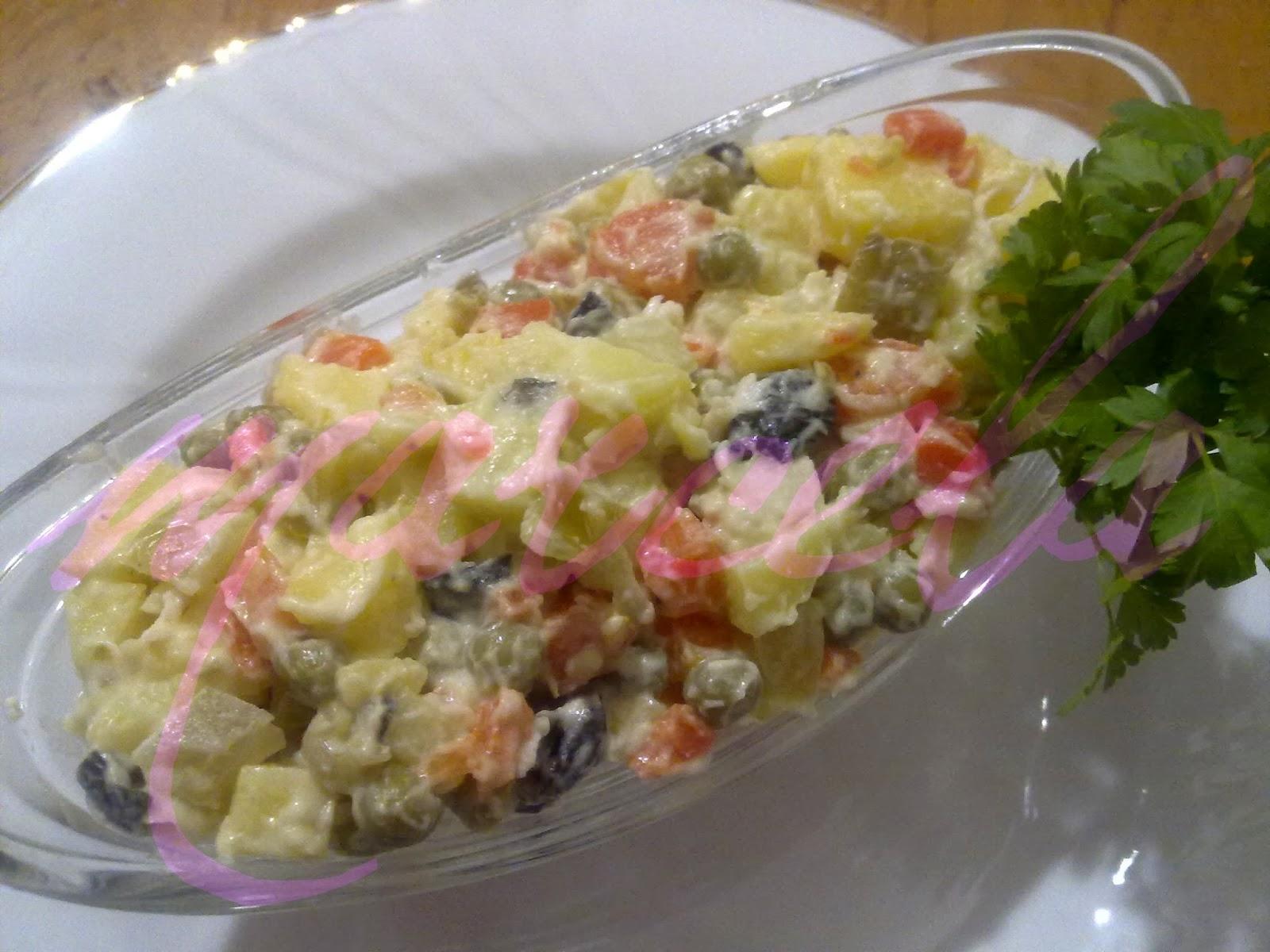 Rus salatasi içindekiler — Görsel Yemek Tarifleri Sitesi ...