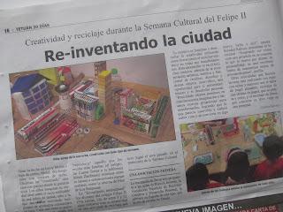 Recicla Inventa en el diario Tetuán 30 días