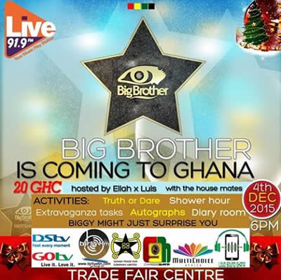 Big Brother Africa 2015 In Ghana This December