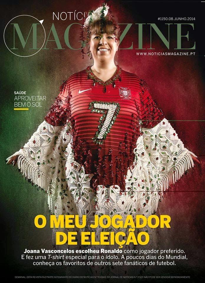 Joana Vasconcelos, Cristiano Ronaldo, T-Shirt,