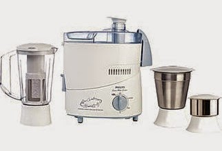 Never Before Price: Philips HL1632 500 W Juicer Mixer Grinder (Blue/3 Jars) worth Rs.3995 for Rs.1500 Only @ Paytm