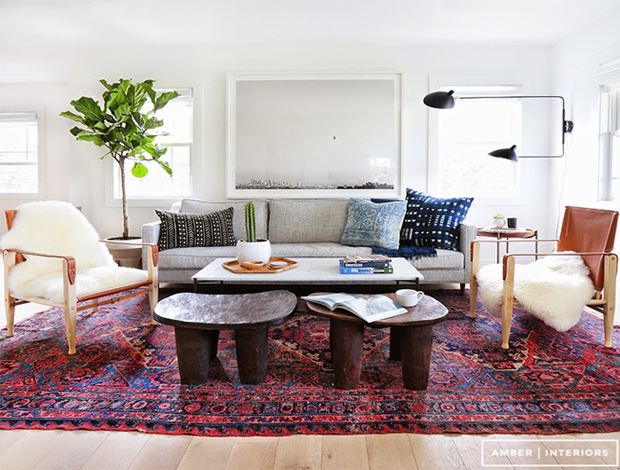 Modern and vintage in the cool boho house design for Living room goals