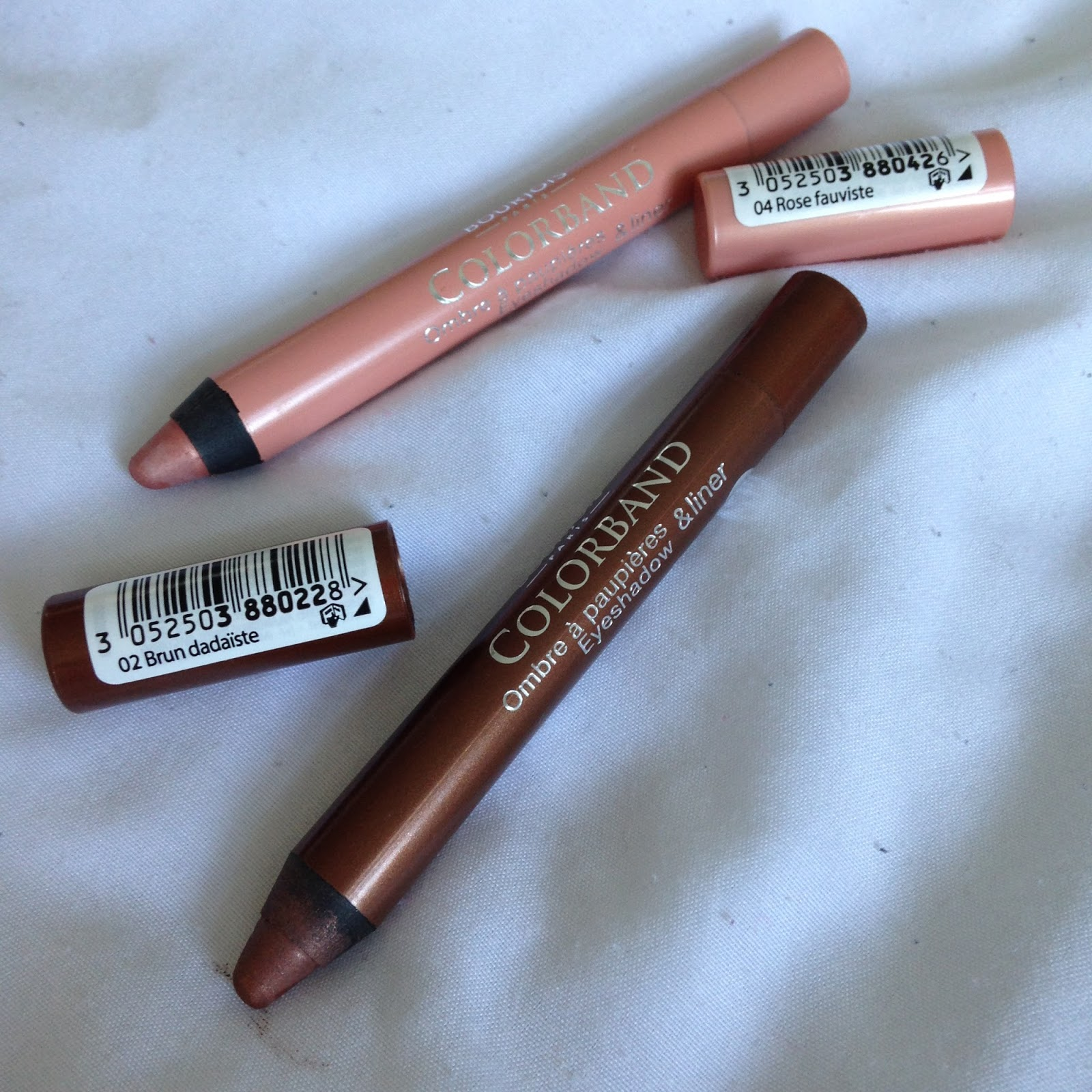 Bourjois Colorband 2 in 1 Eyeshadow & Liner review and swatch