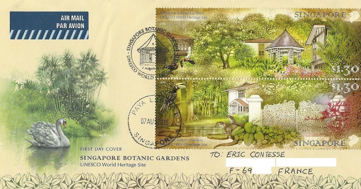 Blog timbr de ma philat lie singapore has its first for Au jardin les amis singapore
