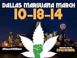 Join the Dallas Marijuana March on 10/18/14!