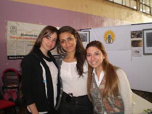 Las alumnas de la Tecnicatura Apícola de Mendoza