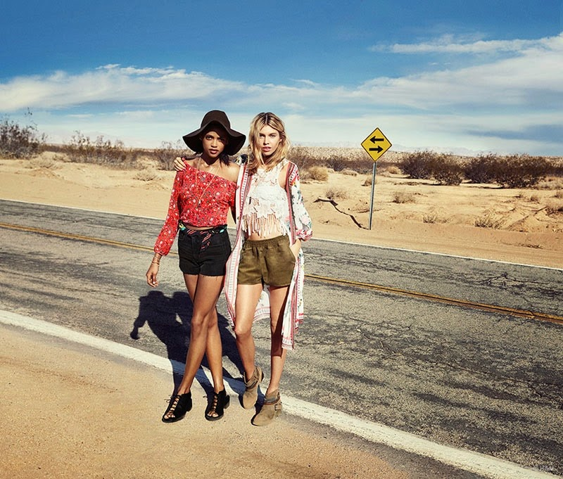h&m loves coachella festival collection 2015 lookbook