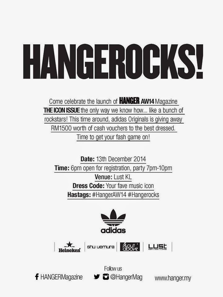Adidas Originals Hangermag Launch Party