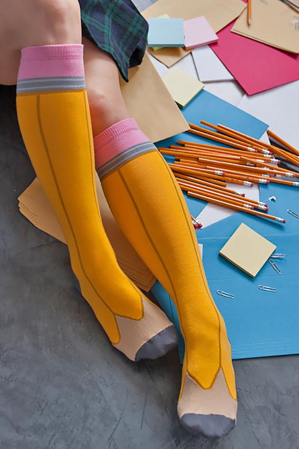 18 meias bem criativas