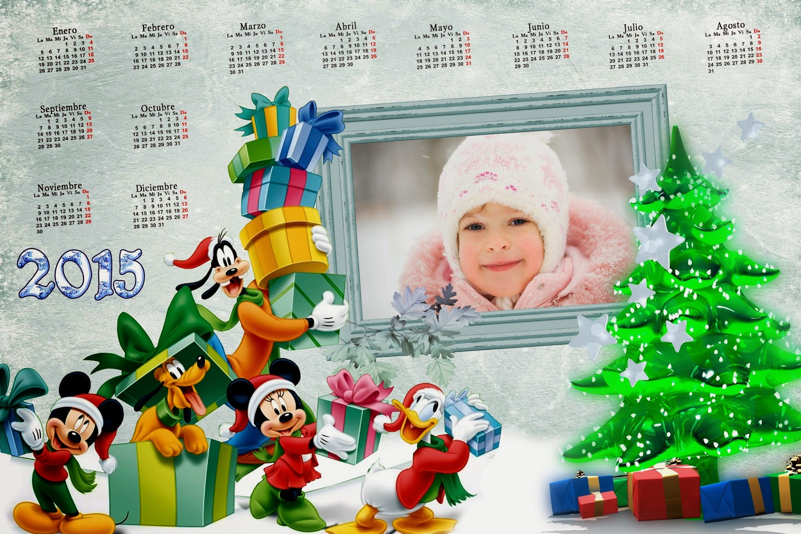Mickey Calendar 2015