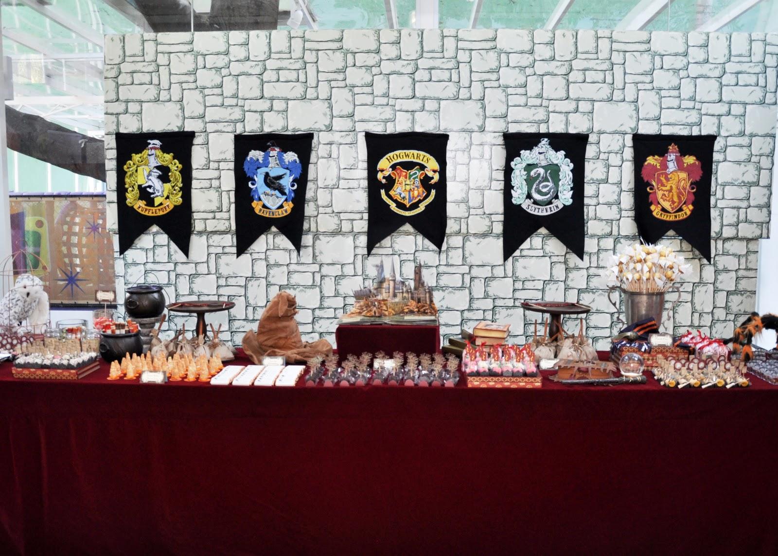 Aparador Sala De Jantar Rustico ~ Espaço Fábula Harry Potter decoraç u00e3o