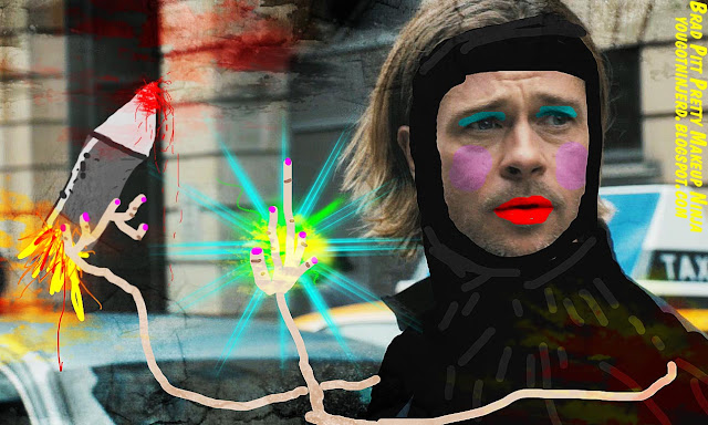 Brad Pitt Ninja