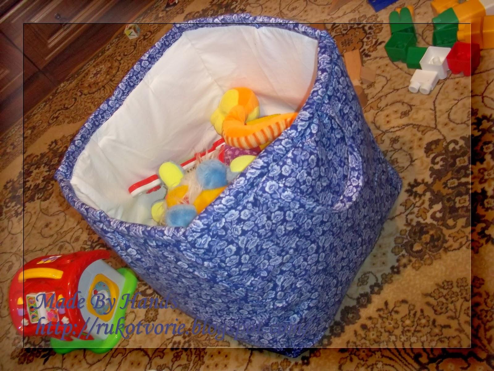 Ящик для игрушек своими руками, корзина, органайзер, фото