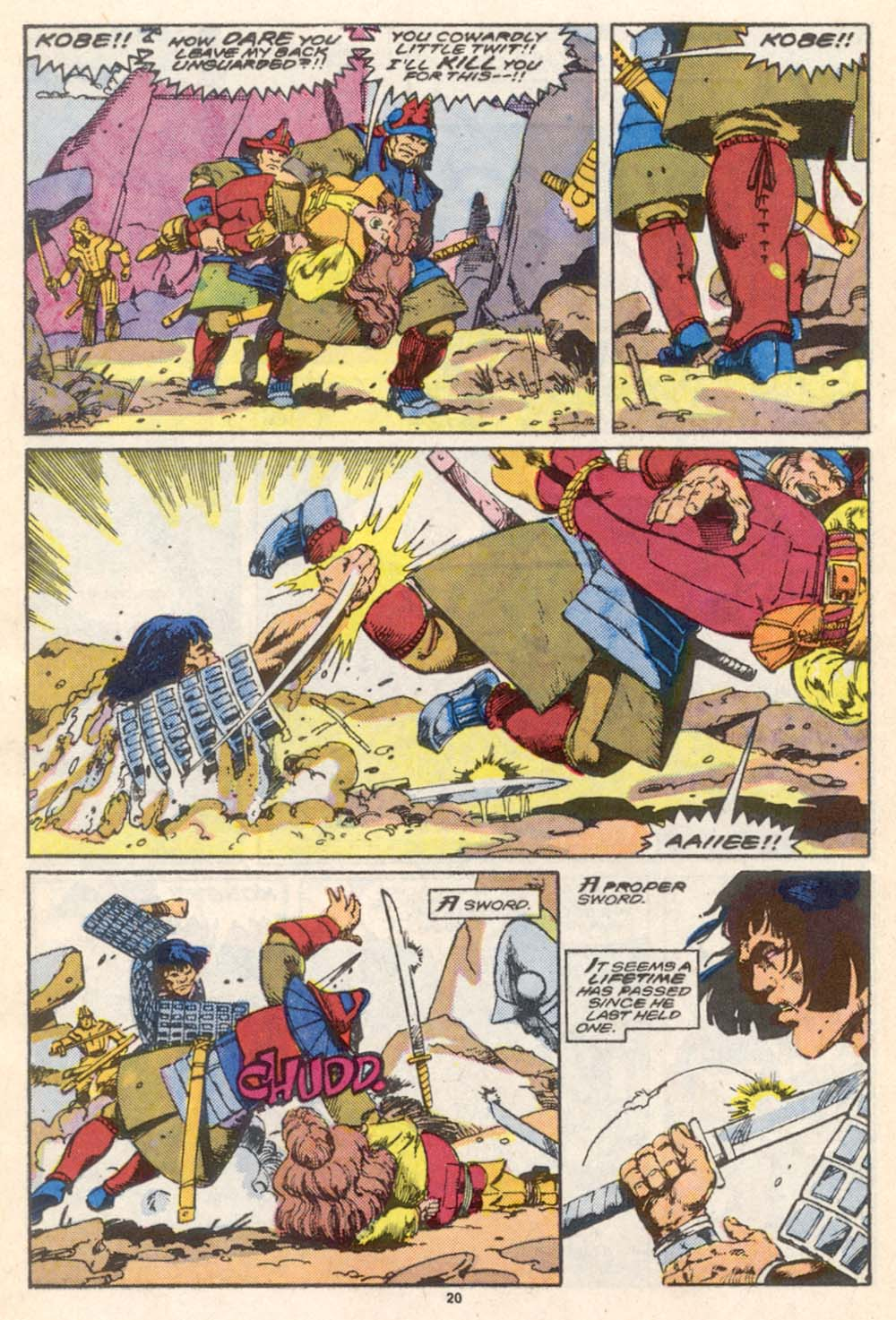 Conan the Barbarian (1970) Issue #206 #218 - English 18