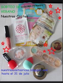 """Sorteo en el blog """"Nuestras Cositas"""""""