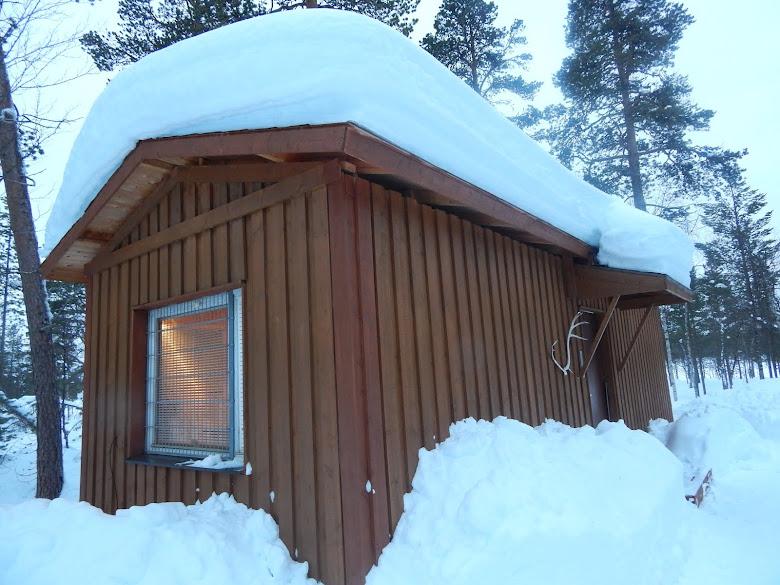 Ahkiniemi cabin