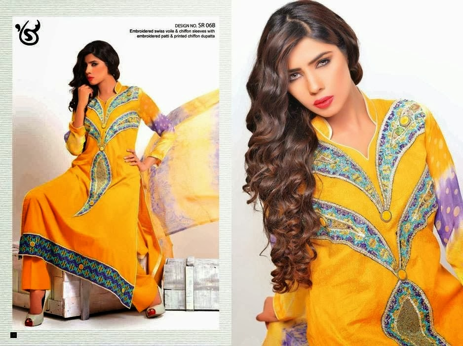 Printed Chiffon Lawn Collection with Dupatta