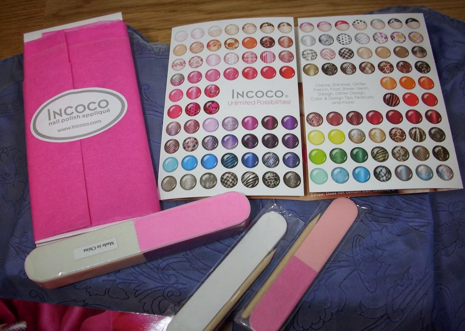 Did someone say nail polish?: incoco nail polish applique in