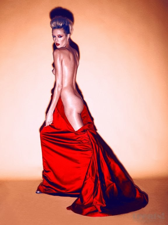 Anastassija Mak by Khoa Bui for Treats Magazine - Pink and Red ensaio fotográfico fashion vermelho rosa modelos