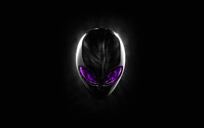 HD Alienware Purple Eyes Wallpapers