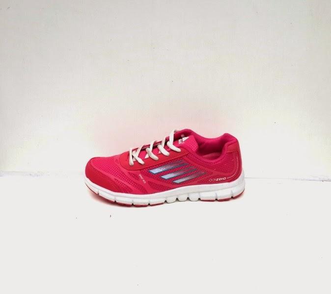 Sepatu Merah, Sepatu Oren, Sepatu Adidas Merah, sepatu running merah, sepatu Adidas Adizero Women warna merah