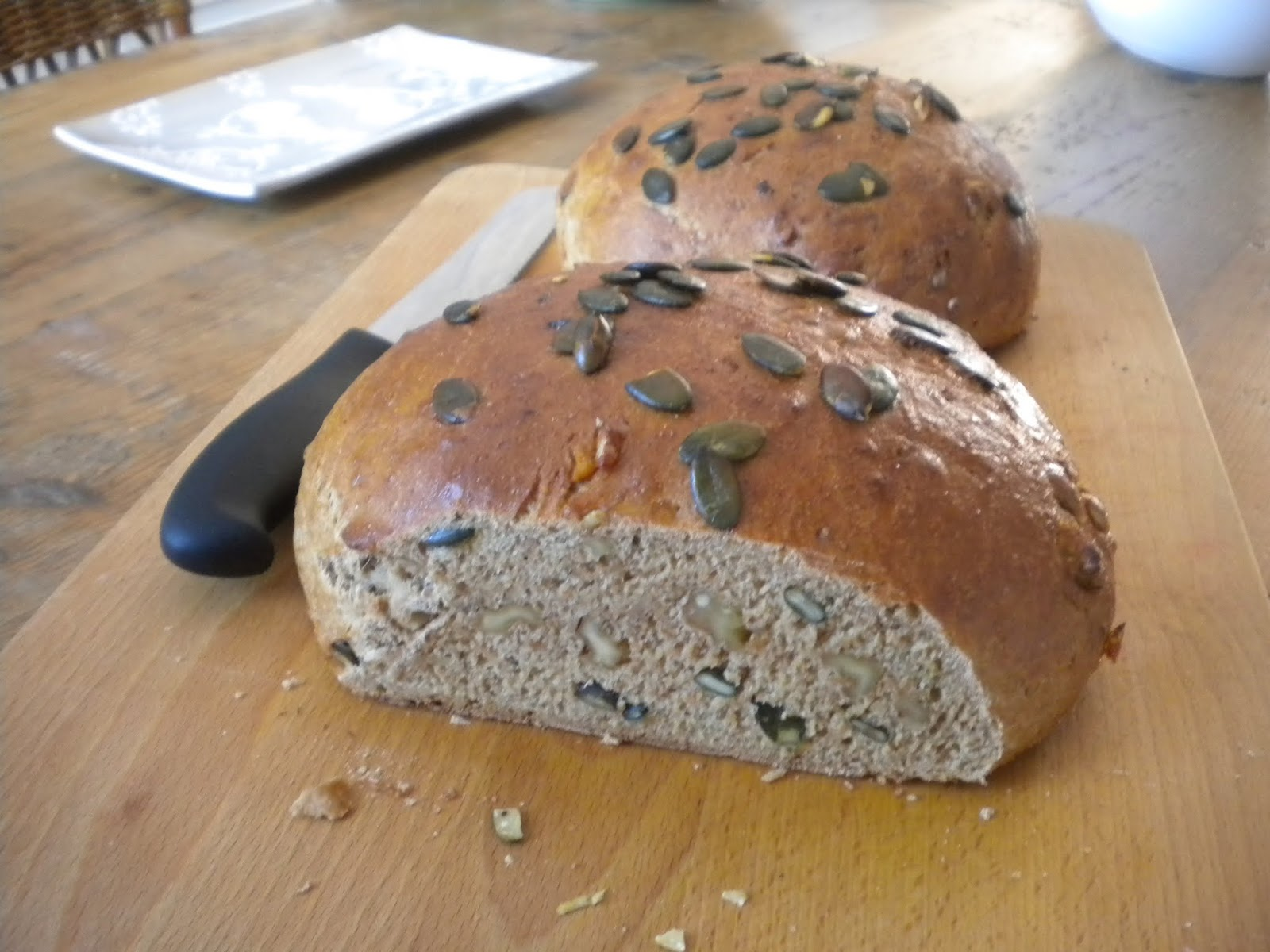 Conny Bakes: Honey-glazed Walnut Bread
