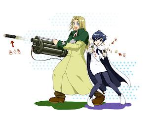 anime accion trigun manga