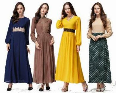 Hot Design Dress chiffon Full Lining Ada Dalam Pelbagai Design & Warna Semuanya Exclusive