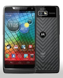 8 smartphones Motorola RAZR i