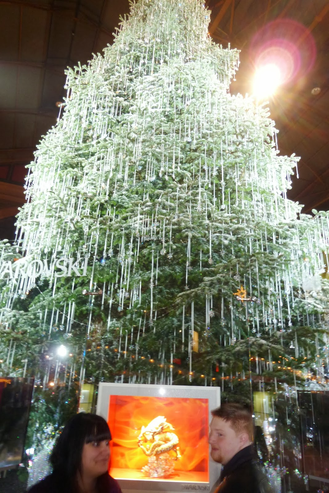 Swarovski Crystal Christmas Tree Zurich