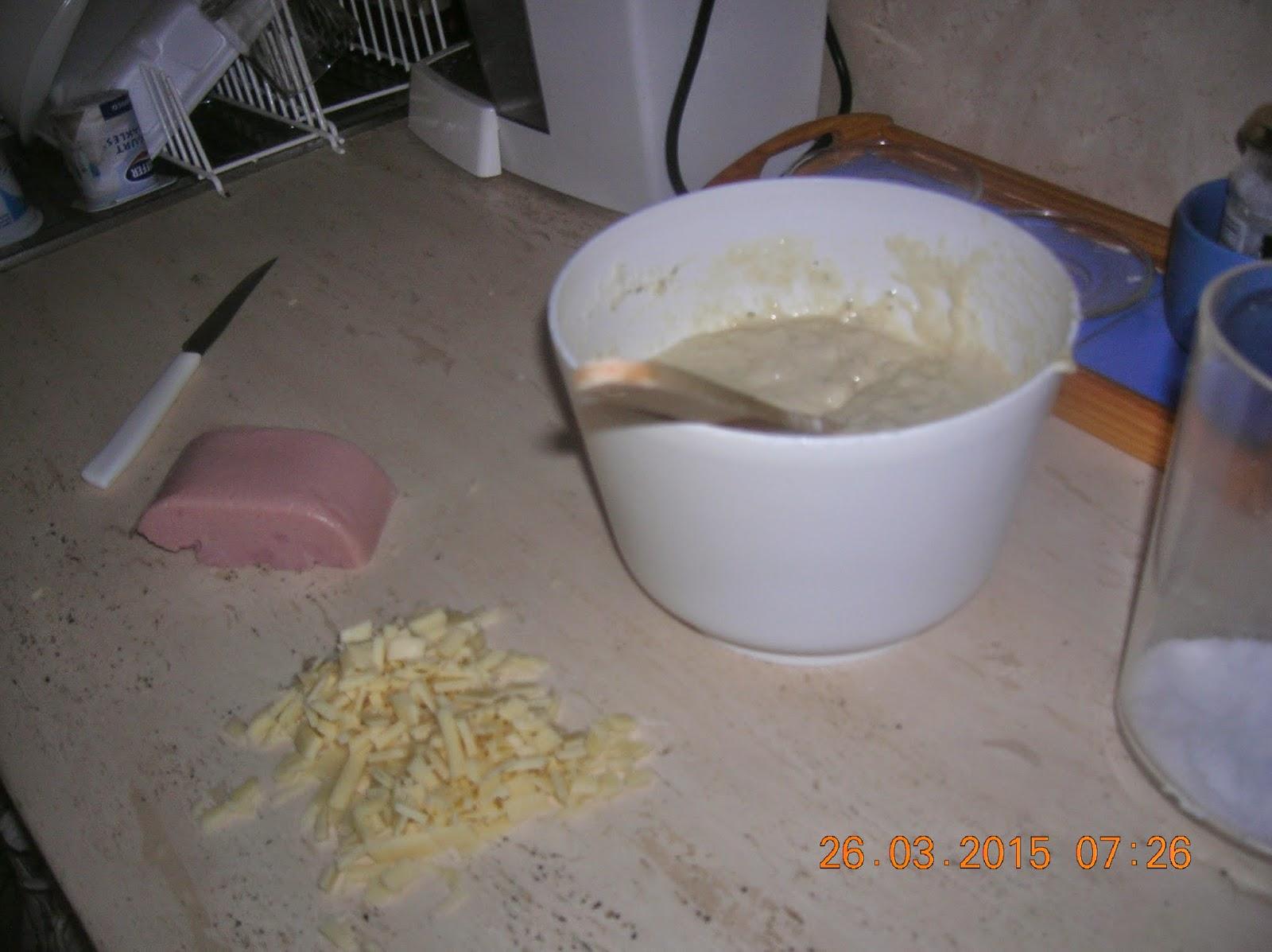 muffin salati con prosciutto  cotto e  fontina--- pizzaaaaa con lievito madre