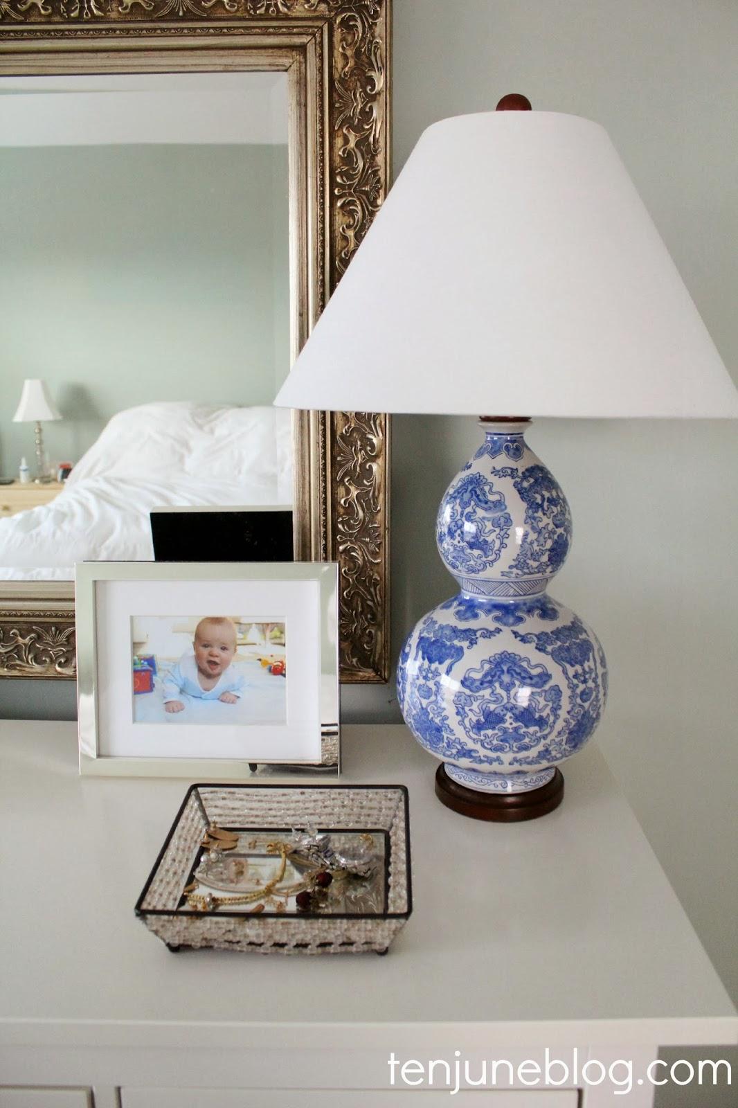 Ten June Master Bedroom Dresser Vignette