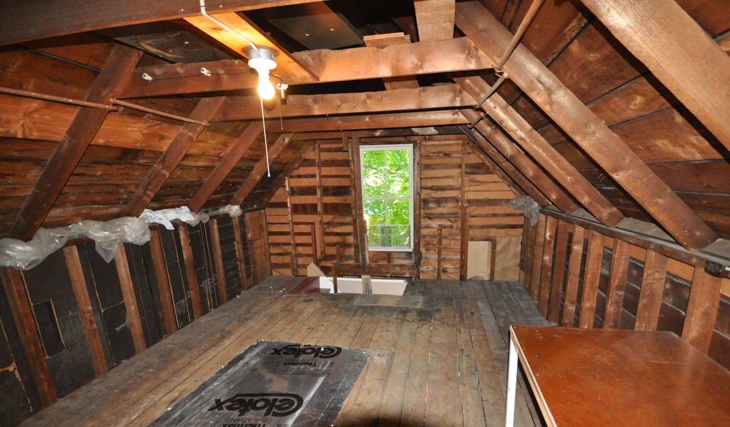 Creating a Master Bedroom from Unused Attic Space. Somehow, in the ...