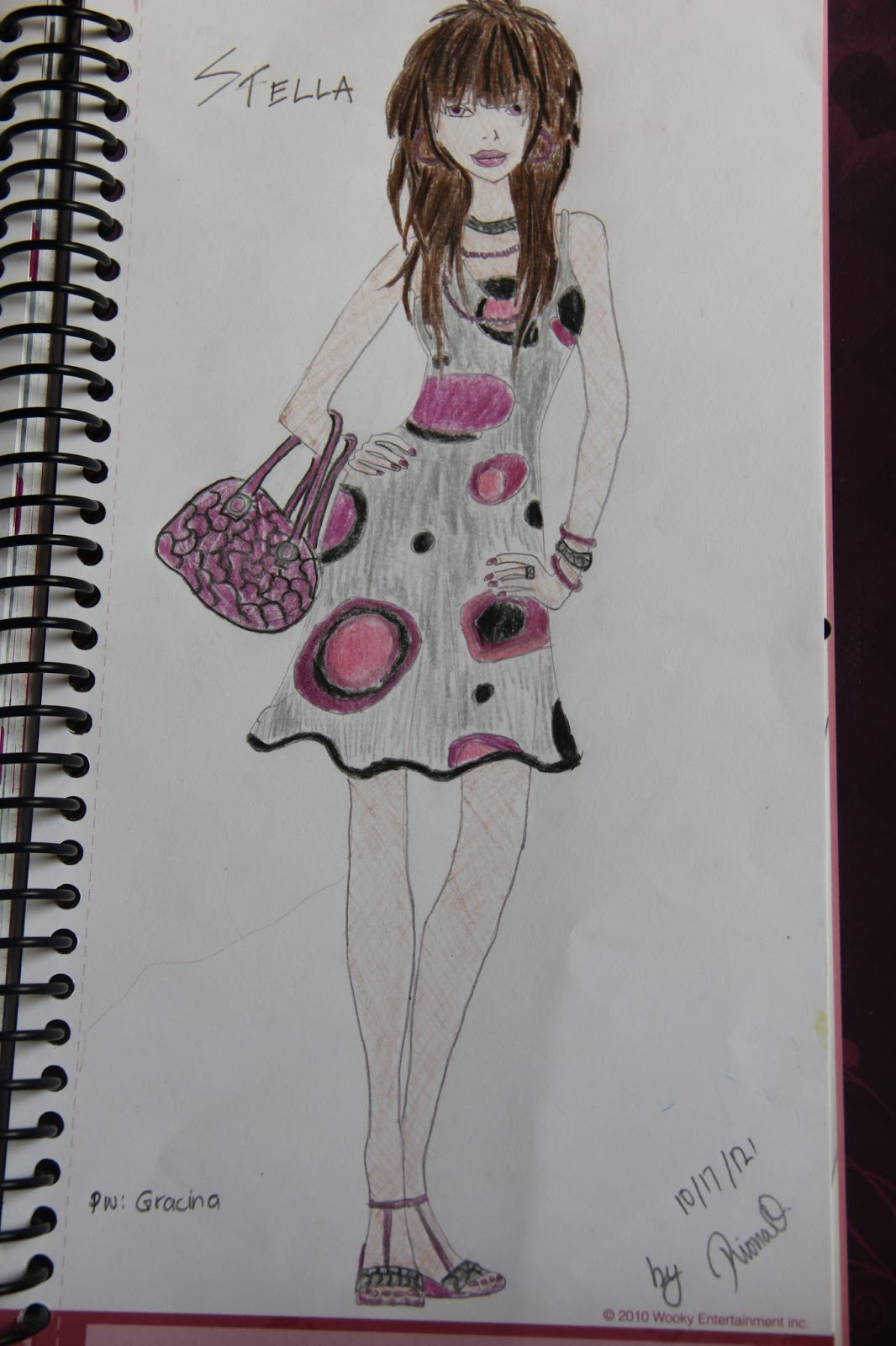 Riona 39 S A K A Amorina Pages Style Me Up Designer Studio Pink And Black