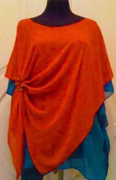 Model Baju Kain Sifon Modern Dan Gamis
